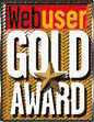 Web User Gold Award
